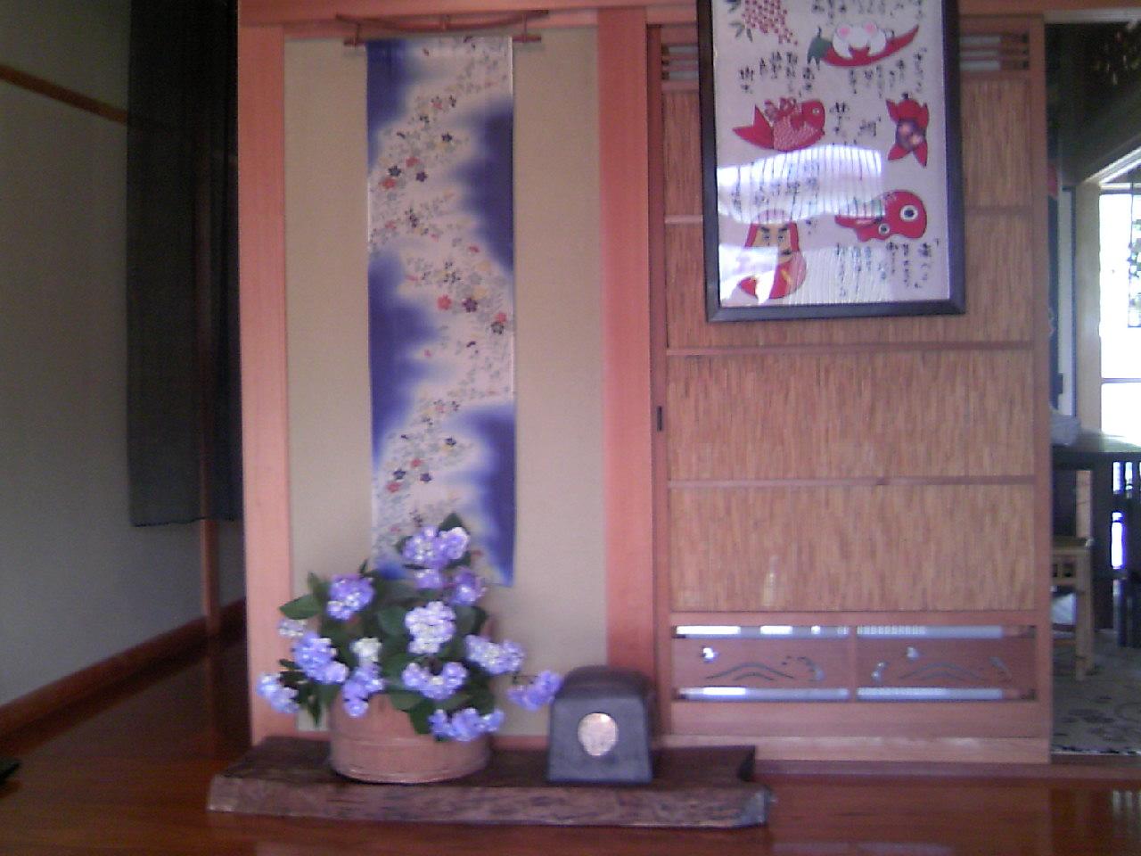 玄関の室礼