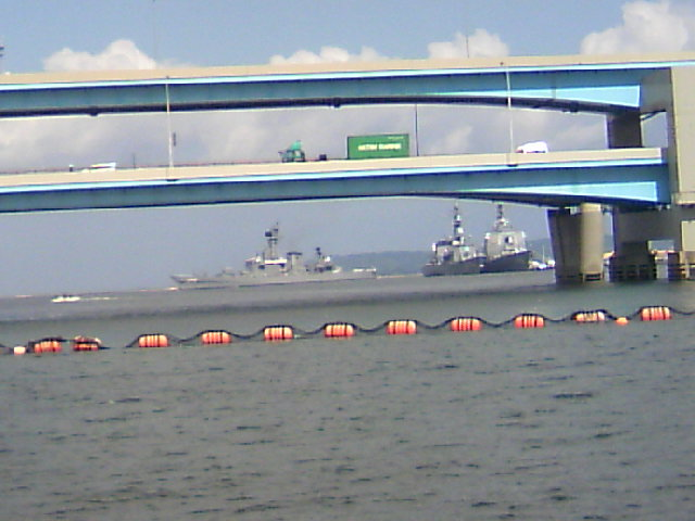 海上自衛隊体験航海IN博多