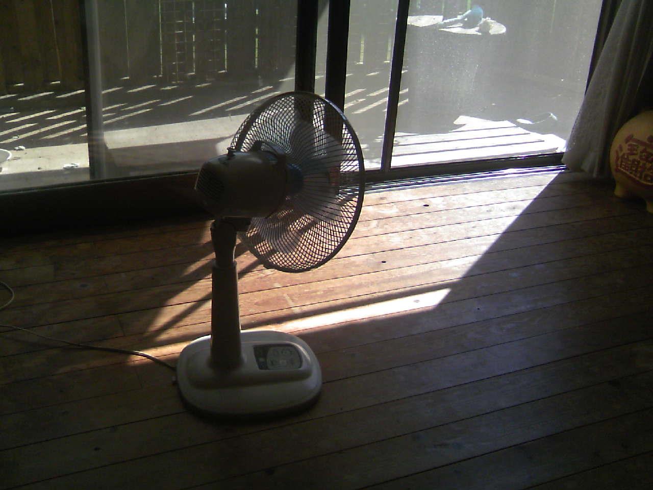 ガンバレ!扇風機