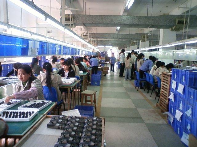 中国の工場