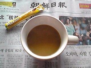 モーニングコーヒー。