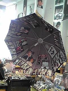 東方神起の傘。