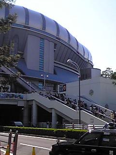 京セラドームにつきました。