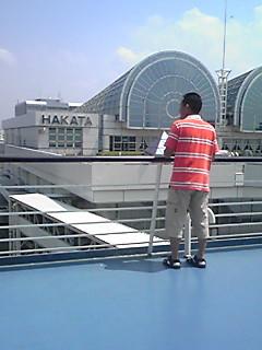 乗船しました。