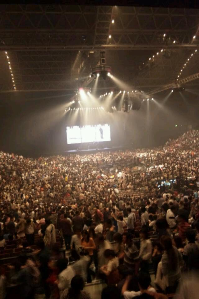 浜田省吾のコンサートへ。