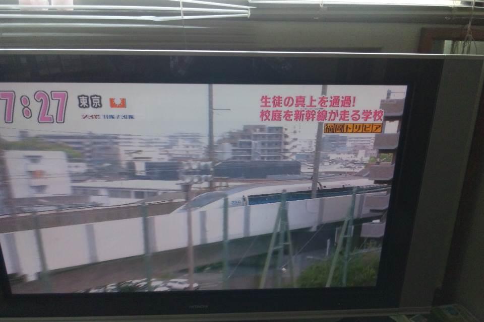 初めて見た新幹線。