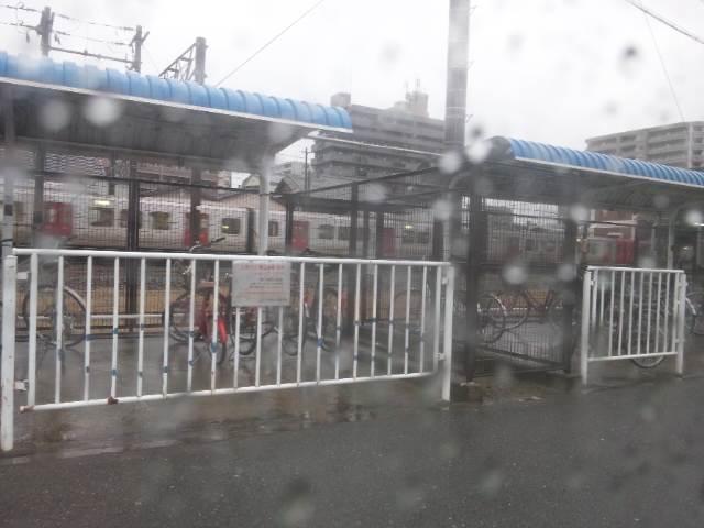 大雨やん。