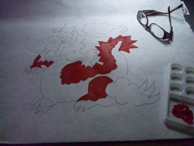 絵を書いています。