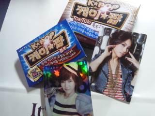 K -pop カード。