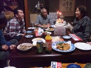 母の誕生日。