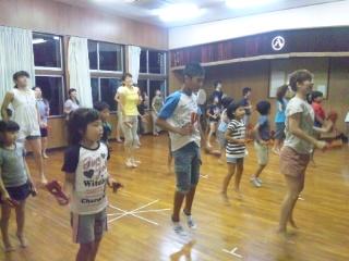 盆踊り…。