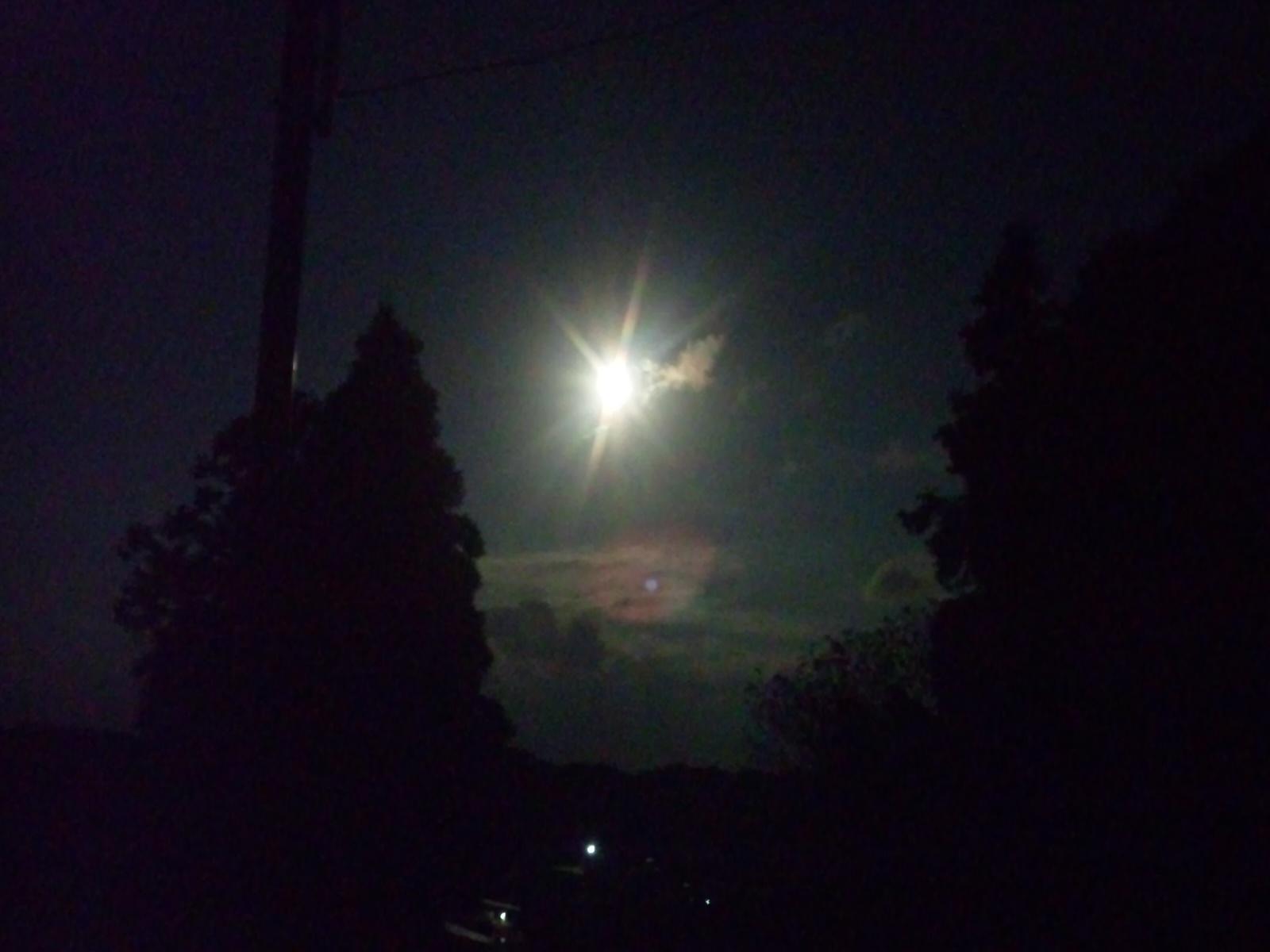 中秋の名月。
