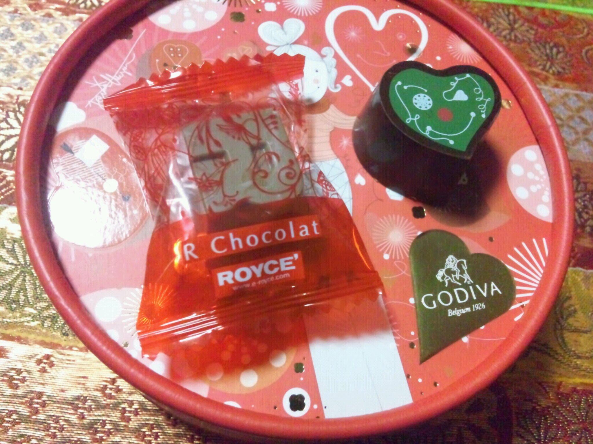 バレンタインチョコ。